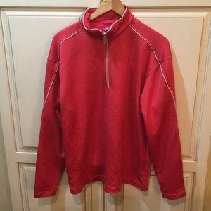 Nike golf fleece quarter zip sweatshirt thermal L